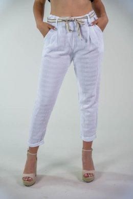 Παντελόνι τύπου φόρμα ριπ με ζωνάκι και τσεπάκια